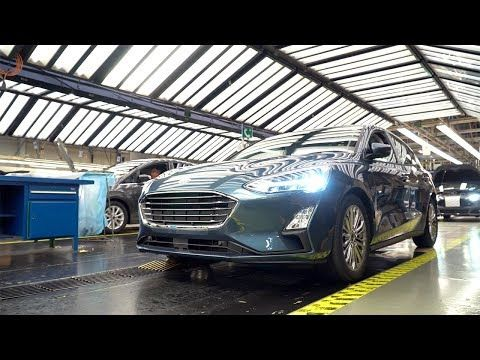 Ford Focus Production At The Ford Saarlouis Plant In Germany Youtube Ford Focus Ford Germany