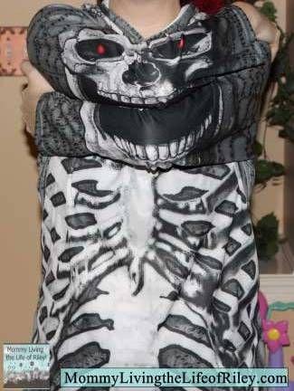 Mouth Man Adult Skeleton Hoodie