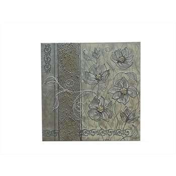 """Quadri fiori moderni """"fiori in chiaro astratto"""" materico su tela ..."""