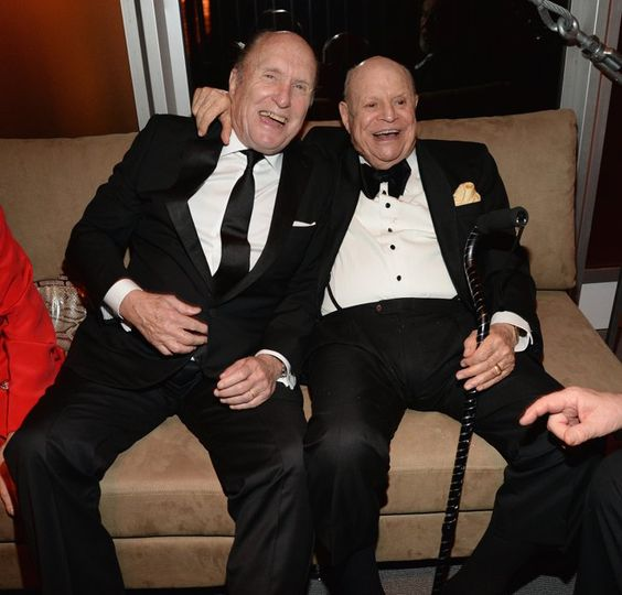 Pin for Later: See Which Stars Let Their Hair Down at Vanity Fair's Oscars Afterparty! Robert Duvall and Don Rickles