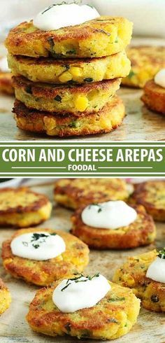The Best Corn and Cheese Arepas