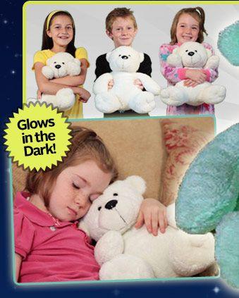 Glow Buddy™ Bear™ The Huggable Nightlight   Official Site