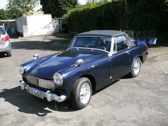 1979 MG MIDGET 1500.good solid condition... un finished project...