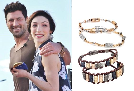 Meryl and Maks + Maks own jewelry line at Cantamessa