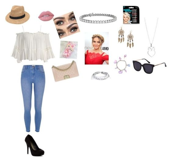 """""""Untitled #26"""" by nicole-fullburster ❤ liked on Polyvore featuring beauty, Sans Souci, River Island, Michael Antonio, Chanel, Lime Crime, Blue Nile, Boohoo, West Coast Jewelry and Gottex"""