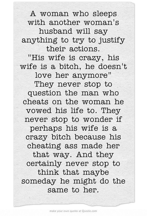 Who do women do this? and why are they surprised that we cheat?