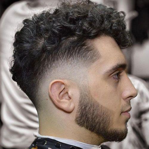 Fresh Fade For Curly Hair Drop Fade Haircut Curly Hair Men Fade Haircut