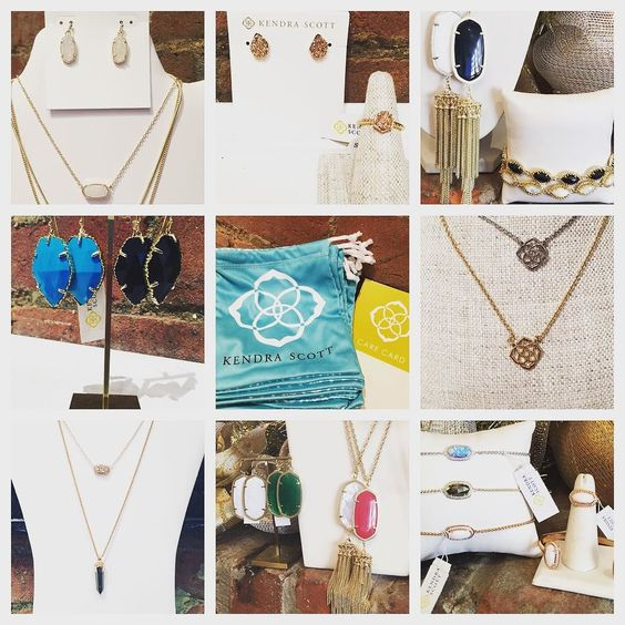 Making spirits bright!!! Come see our Kendra Scott Collection!  #madisonsbluebrick #downtownhotsprings #kendrascott #jewelry #gifting #christmasshopping #stockingstuffers