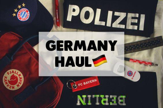 Germany haul, Bayern München jacket, cap, merchandises