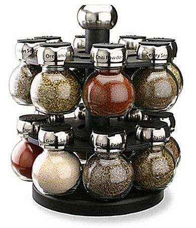 "Olde Thompson ""Orbit"" Spice Rack 