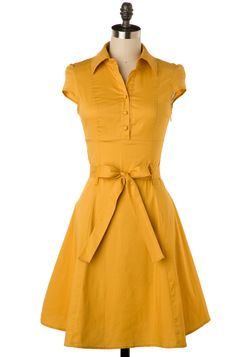 Soda Fountain Dress in Ginger- an other Modcloth find.  Why must their clothes be so darned cute!