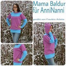 "Mama Nähblog: Free Book Ladies Shirt ""Mama Baldur"""
