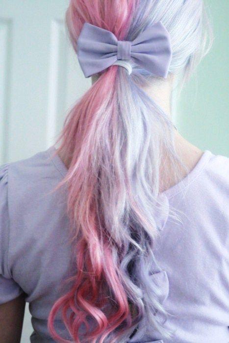 half and half pastels: