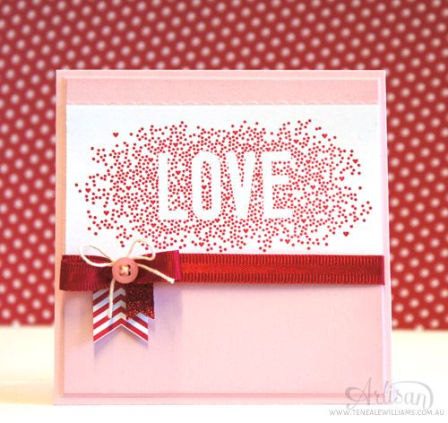 By Teneale Williams | Stampin' Up! Artisan Blog Hop | Seasonally Scattered
