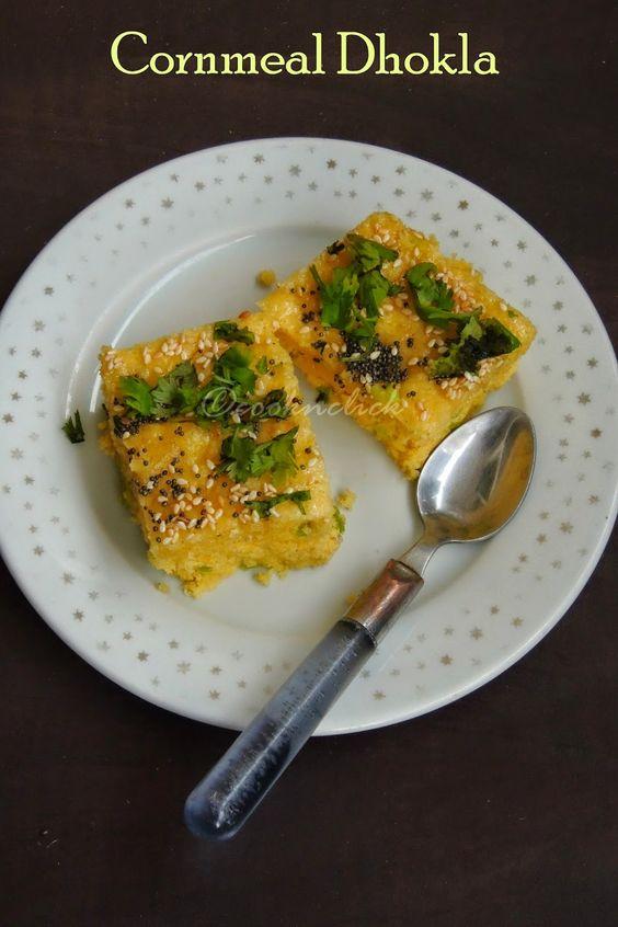 Cornmeal Dhokla