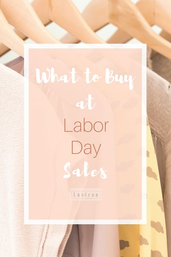 Best Labor Day Sales and What to Buy