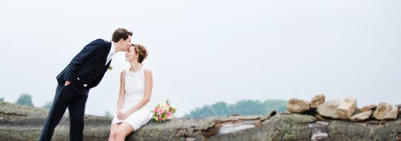 Bräutigam küsst Braut :)