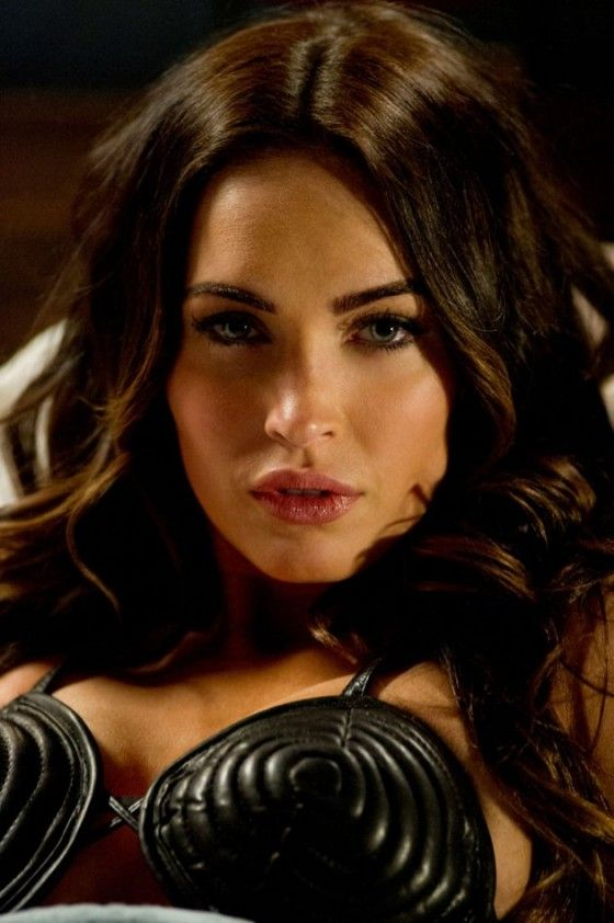Megan Fox Leather Outfit