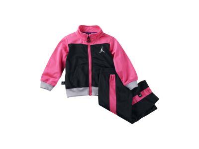 Jordan Sporty Multi-Color Tricot Two-Piece Toddler Girls' Set - $64
