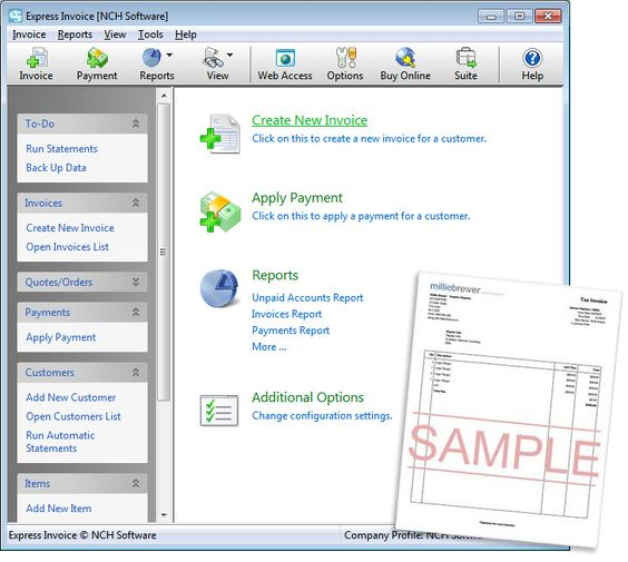 Express Invoice Invoicing Software-The easiest and most complete - how to creat an invoice