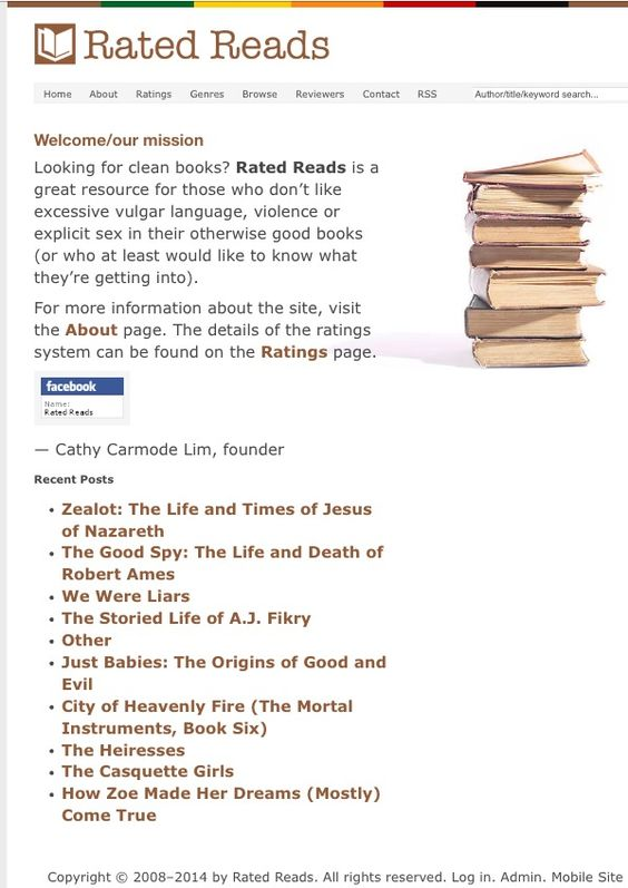 Book review site