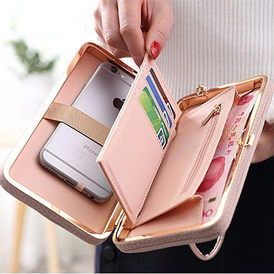 Cell phone pocket /& Mini wallet ~ Set