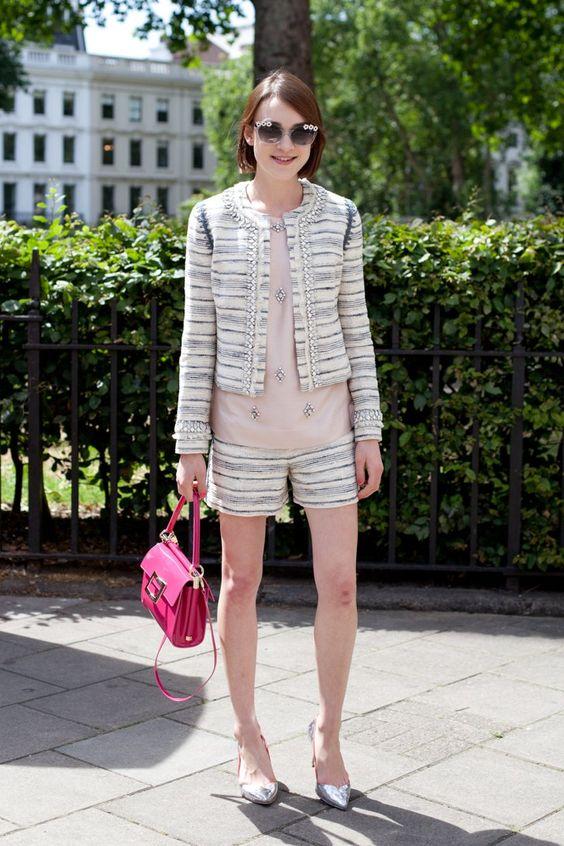 Pin for Later: In diesen Anzügen seid ihr total der Boss! Street Style Trend: Anzüge