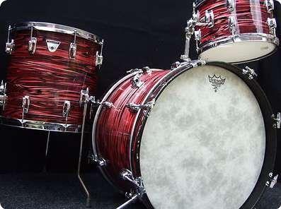 Ludwig standard drum kit 12x8 rack tom 14x14 floor tom for 14x14 floor tom