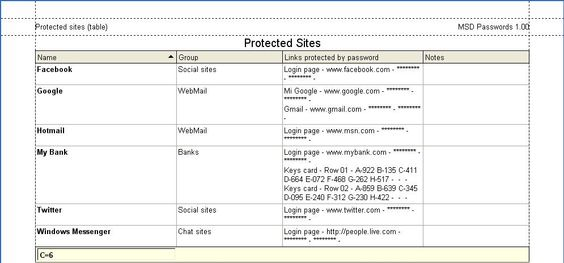 MSD Passwords, Skins MSD Passwords Pinterest Password manager - google spreadsheet login