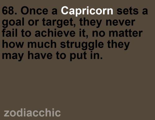 Capricorn: