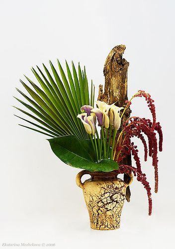6 - christmas ikebana exhibition