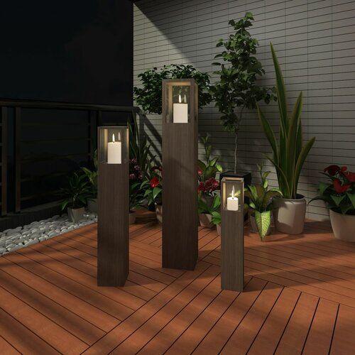 Sol 72 Outdoor 3 Piece Wooden