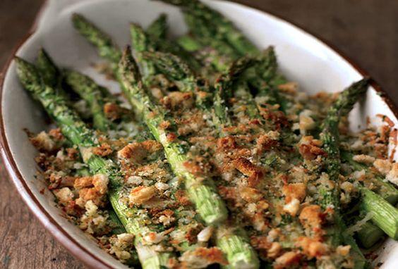 Classy (easy) asparagus side dish.
