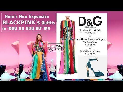Here S How Expensive The Outfits Of Blackpink In Ddu Du Ddu Du