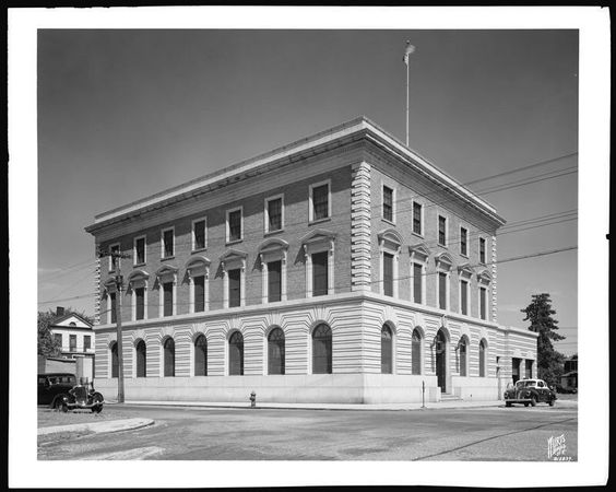 45th pct c/o Barkley av & revere st...this building was built in 1932 and still is used as the station house