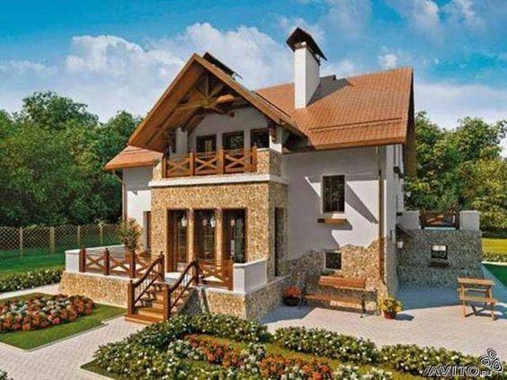 красивые небольшие дома: 31 тыс изображений найдено в Яндекс.Картинках