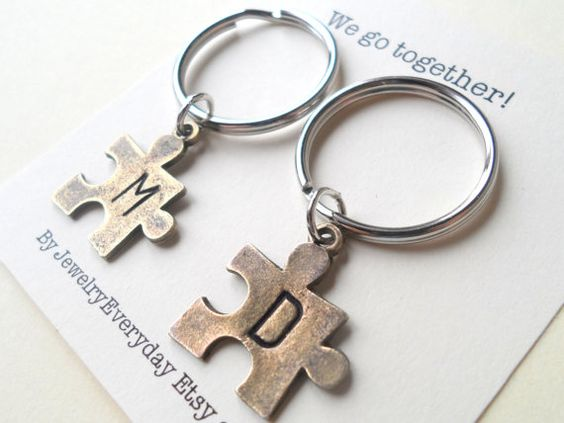 Cute Valentine's special key chain