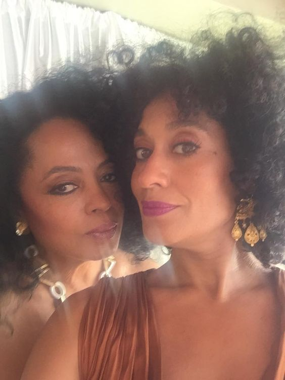 The legend that is Diana Ross and her FABB daughter Tracee Ellis Ross. Whatever Diana is using on her skin WE WANT! 70 years old and still #rockingit