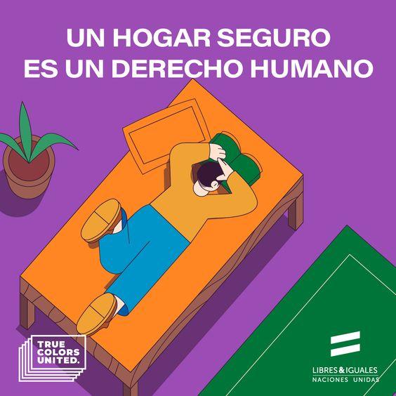 Un hogar seguro es un derecho humano