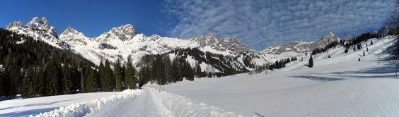 Bischofsmütze .Ein wunderschöner Wintertag