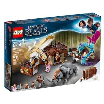 Lego Harry Potter Newt S Case Of Magical Creatures Set 75952 Kohls In 2021 Harry Potter Lego Sets Harry Potter Toys Magical Creatures