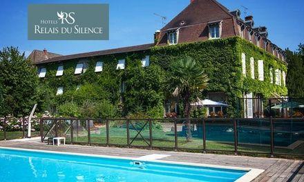Bourgogne : Menu gastronomique, cours de cuisine ou nuitées en option au Relais du Silence Château de la Barge 4* pour 2