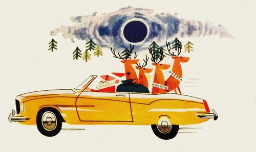 rogerwilkerson:  Sports Car Santa Claus - 1962