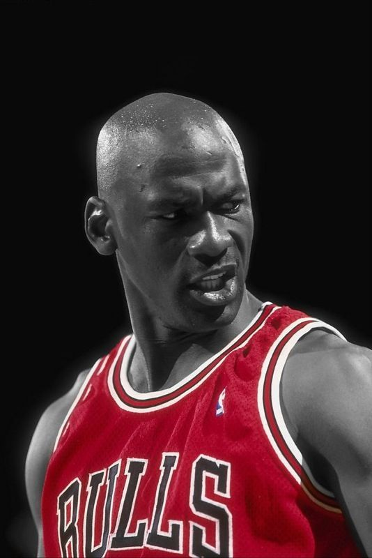 Michael Jordan & the look. For me, basketball hasn't been as exciting since he left the game.