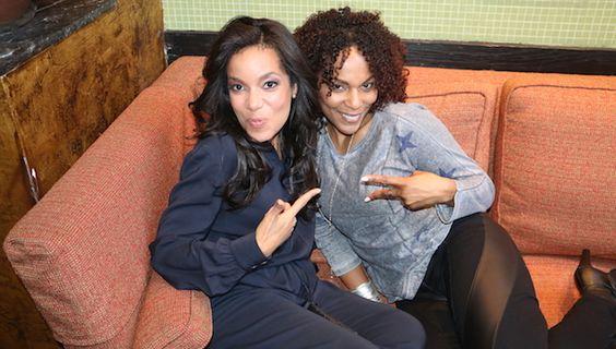Sunny Hostin & Jasmine Sanders