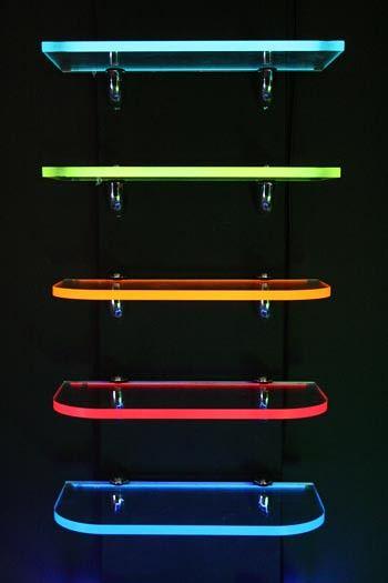 light shelf design on Edge Lit Light Tape Light Shelf Led Decor Game Room Design Shelf Lighting