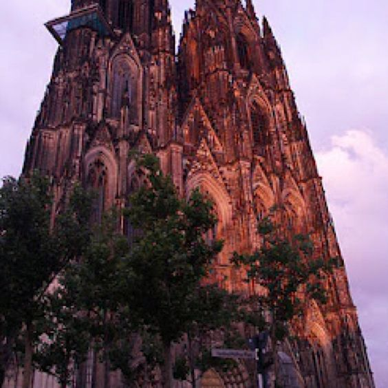 The Dom at sunset