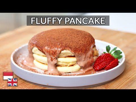 100 Pasti Fluffy Resep Pancake Jepang Selembut Kapas Bahan Lokal Youtube Sweet Desserts Dessert Recipes Fluffy Pancakes
