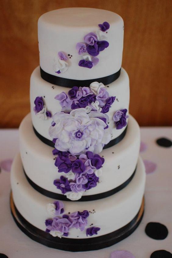 Pinterest daisy wedding bouquets gerbera daisy bouquet and daisy - Wedding Cakes Purple Flowers Wedding Pinterest