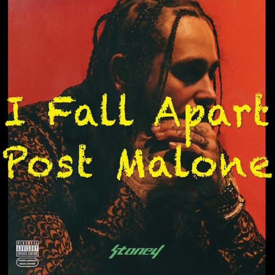 Post Malone – I Fall Apart (single cover art)